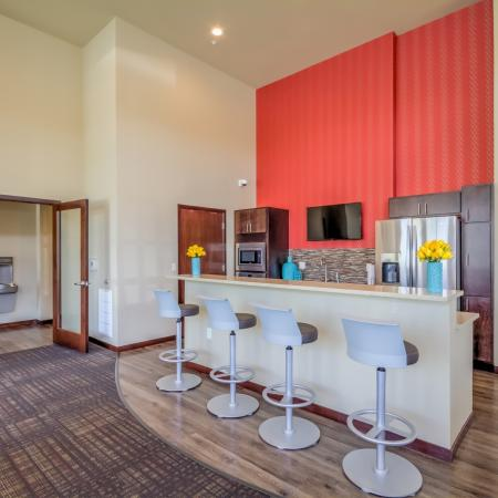 Clubhouse at 50Twenty Apartments