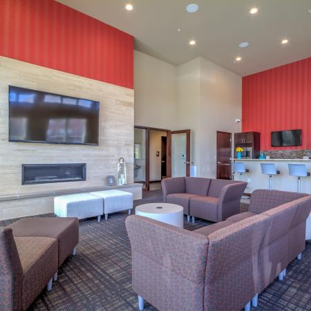 Clubhouse at 50Twenty Apartments 3