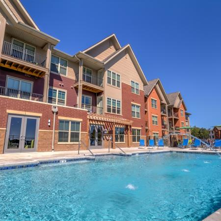 Swimming Pool at The Vue Apartments