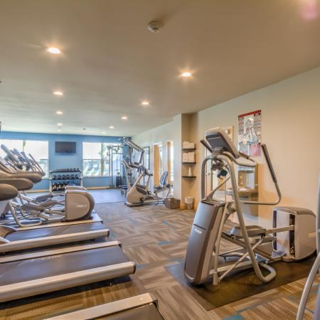 Fitness Center at The Vue Apartments