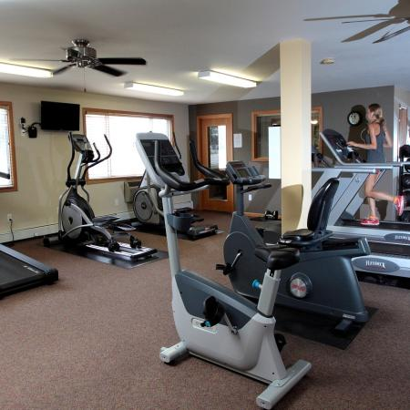 Fitness Center at Valley View Apartments 2