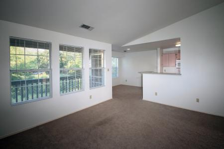Living Room at Saint James Place Apartments