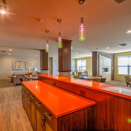 Spacious Resident Club House | The Vue Apartments