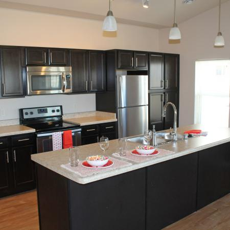 State-of-the-Art Kitchen | Bergamont Townhomes