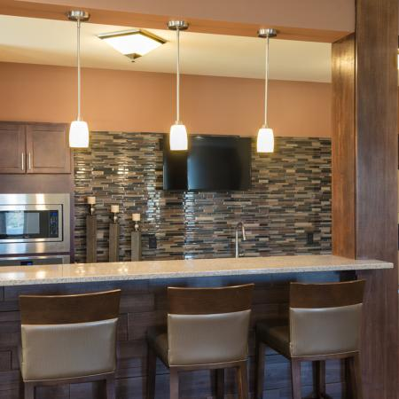 Spacious Resident Club House | The Woodlands Apartments