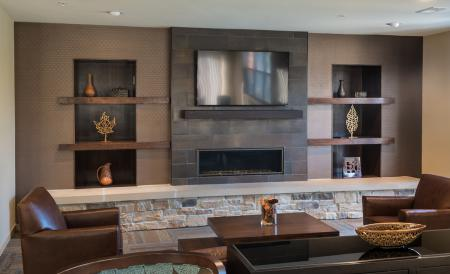 Spacious Community Club House | The Woodlands Apartments