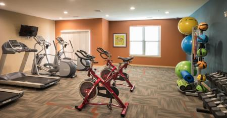 State-of-the-Art Fitness Center | The Woodlands Apartments