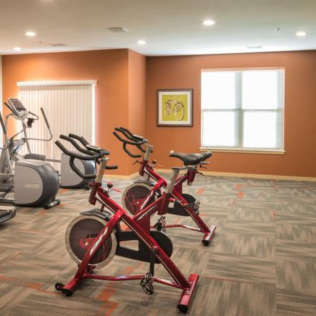 State-of-the-Art Fitness Center   The Woodlands Apartments