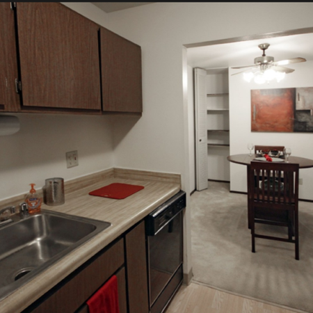 Large Kitchen | 1 Bedroom Apartments in St. Francis WI | Ridge View Apartments