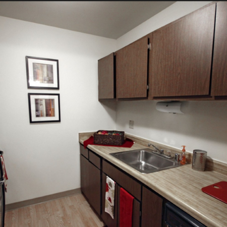 Modern Kitchen | 1 Bedroom Apartments in St. Francis WI | Ridge View Apartments