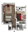 Floor Plan B5 | 22 Slate | Apartments in Madison, WI