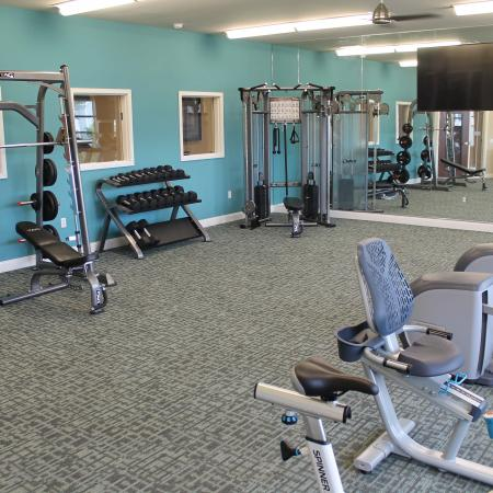 Resident Fitness Center | Apartment Homes In Madison | 22 Slate