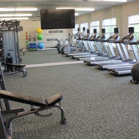 On-site Fitness Center | Madison Apartments | 22 Slate