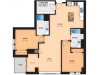 Floor Plan B | Domain | Apartments in Madison, WI