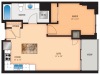 Floor Plan L1 | Domain | Apartments in Madison, WI
