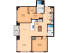 Floor Plan W2 | Domain | Apartments in Madison, WI