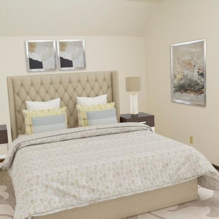 Spacious Bedroom   2 Bedroom Menomonee Falls Apartments   Stone Point Apartments