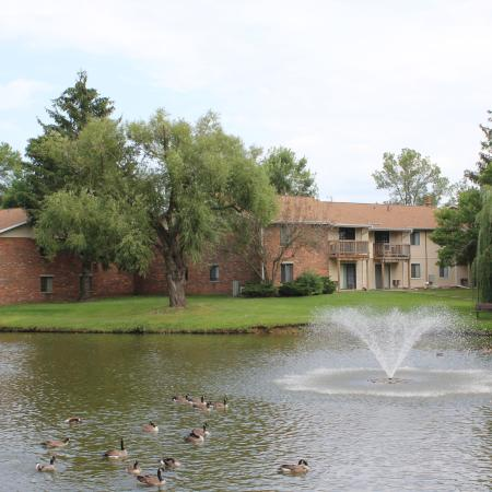 Pond Views | 1 Bedroom Apartments in Middleton | Arbor Lakes at Middleton