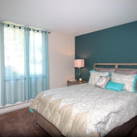 Spacious Bedroom | Apartments in Middleton WI | Arbor Lakes at Middleton