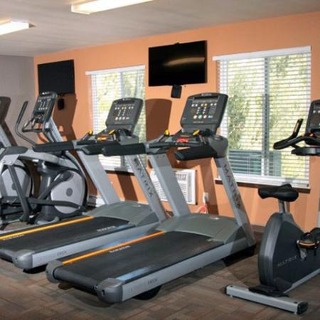 Spacious Fitness Center | Middleton Apartments | Arbor Lakes at Middleton