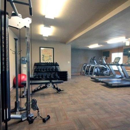 24 Hour Fitness Center | 3 Bedroom Apartments in Middleton WI | Arbor Lakes at Middleton