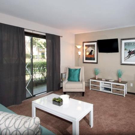 Spacious Living Room Area | Middleton WI Apartments | Arbor Lakes at Middleton