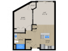 Floor Plan 1B | 1505 Apartments | Apartments in Grafton, WI
