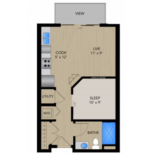 Floor Plan SB | 1505 Apartments | Apartments in Grafton, WI