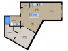 Floor Plan SA | 1505 Apartments | Apartments in Grafton, WI