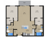 Floor Plan 2A | 1505 Apartments | Apartments in Grafton, WI