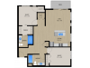 Floor Plan 2C | 1505 Apartments | Apartments in Grafton, WI