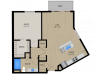 Floor Plan 1D | 1505 Apartments | Apartments in Grafton, WI