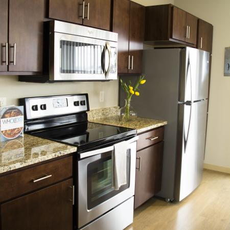 Modern Kitchen | 2 Bedroom Apartments in Menomonee Falls WI | The Junction