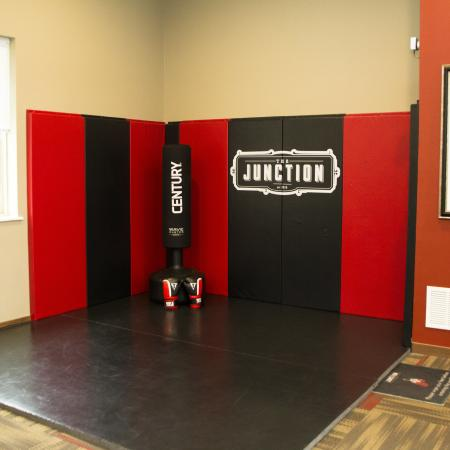 Boxing Area | Apartments in Menomonee Falls | The Junction