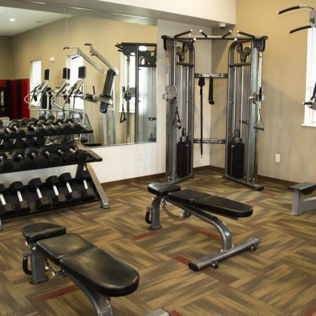 On-site Fitness Center | 2 Bedroom Apartments in Menomonee Falls | The Junction