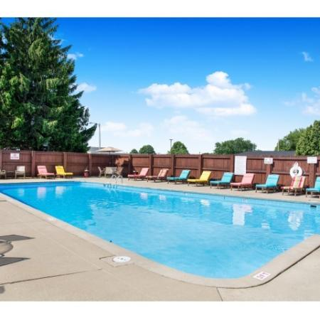 Sparkling Pool | Apartments in St. Francis | Ridge View Apartments