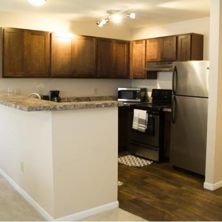 Luxury Kitchen Area | 2 bedroom apartments in Louisville KY | Barrington Place