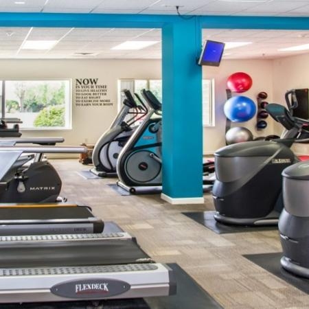 Fitness Center at The Landmark at Hatchery Hill