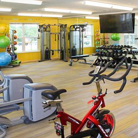 Fitness Center at Elan