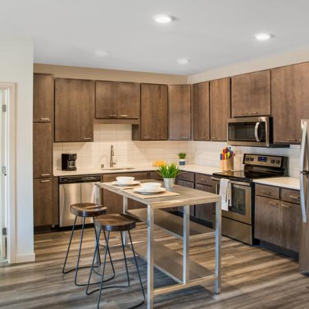 Elegant Kitchen | Apartments in Greenfield, WI | Forte at 84South