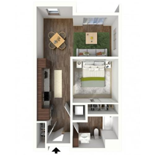 Floor Plan A3.1 | Jade at North Hills | Apartments in Menomonee Falls, WI