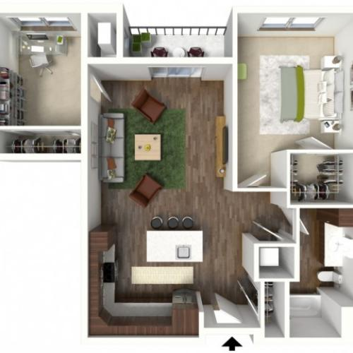 Floor Plan C2 | Jade at North Hills | Apartments in Menomonee Falls, WI