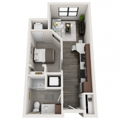 Floor Plan A2 | Synergy at the Mayfair Collection | Apartments in Wauwatosa, WI