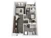 Floor Plan B1 | Synergy at the Mayfair Collection | Apartments in Wauwatosa, WI