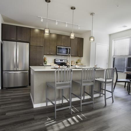 2 Bedroom Kitchen View | Apartments In Wauwatosa Wisconsin | Synergy