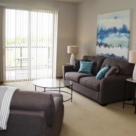 Spacious Living Area | Apartments in Madison For Rent | 50Twenty Apartments