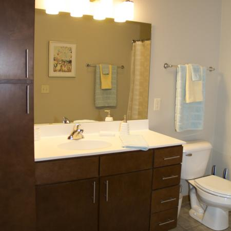 Spacious Bathroom | Apartments in Madison For Rent | 50Twenty Apartments