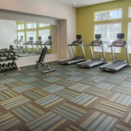 Cutting Edge Fitness Center | Apartments Homes for rent in  Menomonee Falls, WI | Jade at North Hills