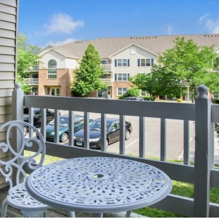 Spacious Apartment Balcony | Kenosha WI Apartments For Rent | Riverwood Apartments