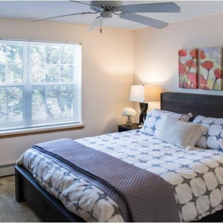 Spacious Bedroom | Kenosha WI Apartment Homes | Riverwood Apartments